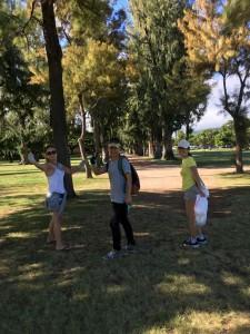 カピオラニ公園でゴミ拾い